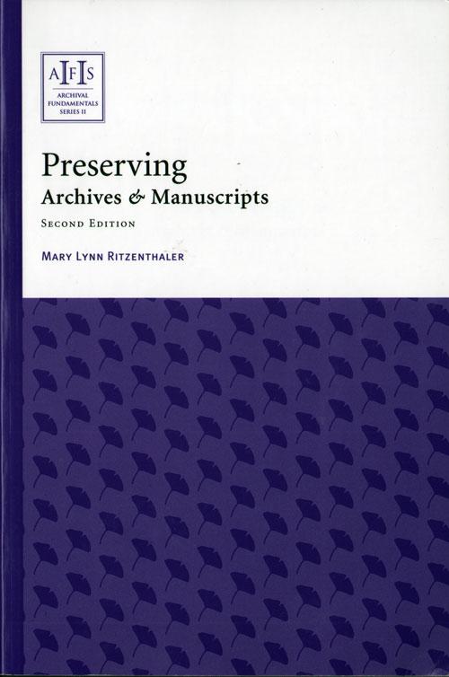Preserving Archives & Manuscripts