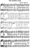 Fig 143 Music Score - The Marseillaise