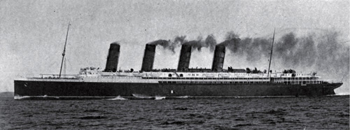 The Lusitania - A Mighty Record Breaker of the Cunard Line