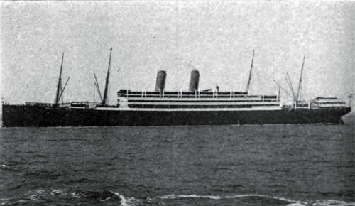 "The ""Kaiserin Auguste Victoria"" of the Hamburg-American Line"