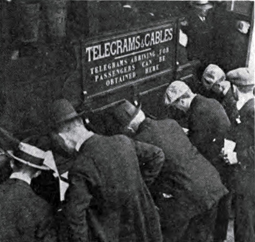 Sending Cables and Telegrams at Fishguard