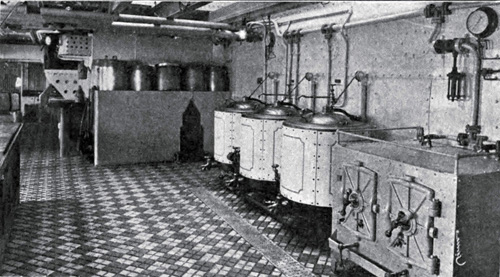 Photo 124 - The Galley Showing Steam Cookers