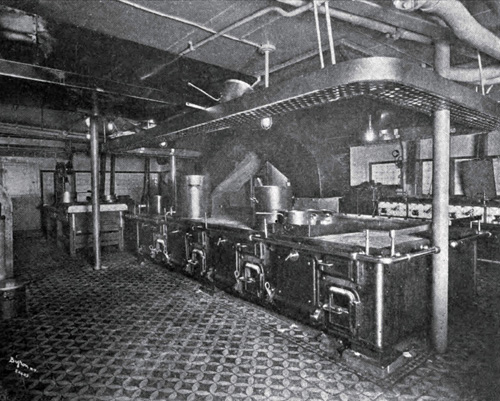 Photo 127 - The Galley On An Ocean Liner