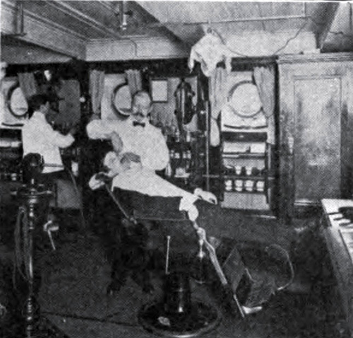 Photo 131 - Typical Barber Ship Onboard Steamship