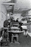 Photo 135 - Printing The Daily Newspaper On A Steamship
