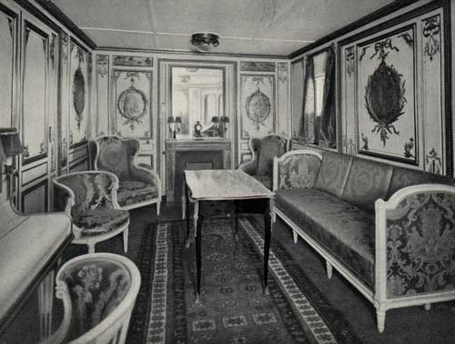 Salon de l'Appartement de Grand Luxe