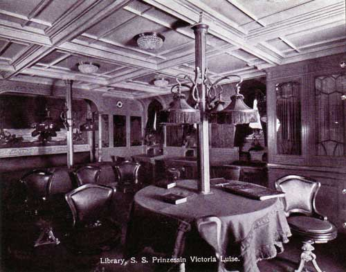 Library - S.S. Prinzessin Victoria Luise