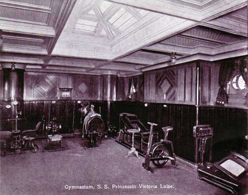 Photographs Of The Ss Prinzessin Victoria Luise Hamburg