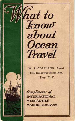 What to Know About Ocean Travel by IMM 1924