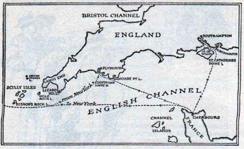 Approaches to the English Channel