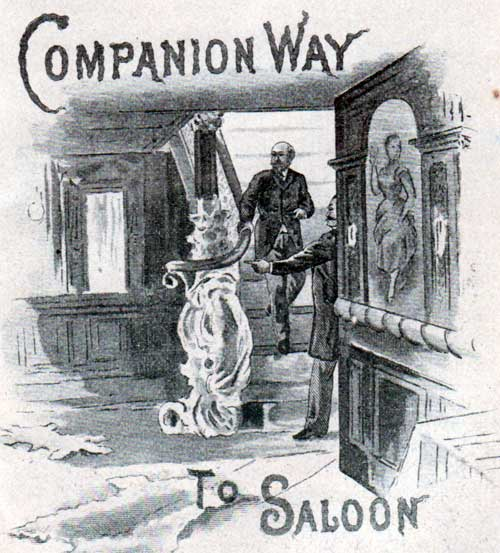 Companion Way to Saloon