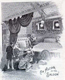 An Alocove in the Saloon