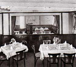 View of the Third Class Children's Dining Area