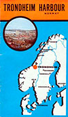 Trondheim Harbour, Norway - 1961 Brochure