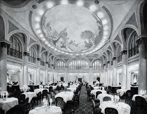 View of the Main Dining Saloon
