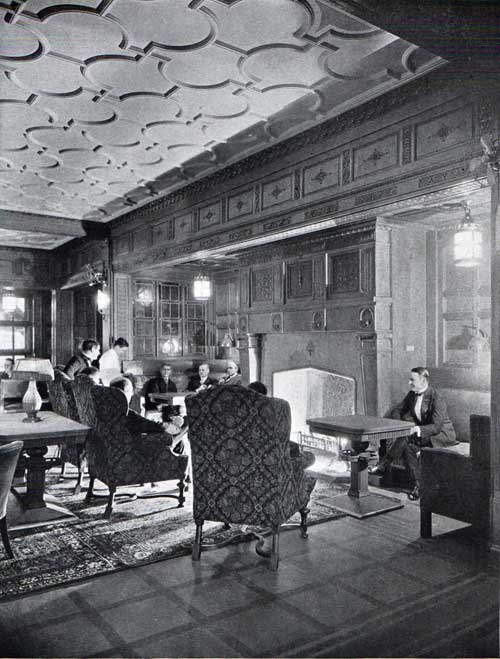 A view of the Smoking Room