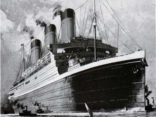 The White Star Line Majestic