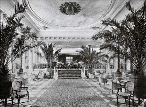 Palm Court and Approach to Restaurant