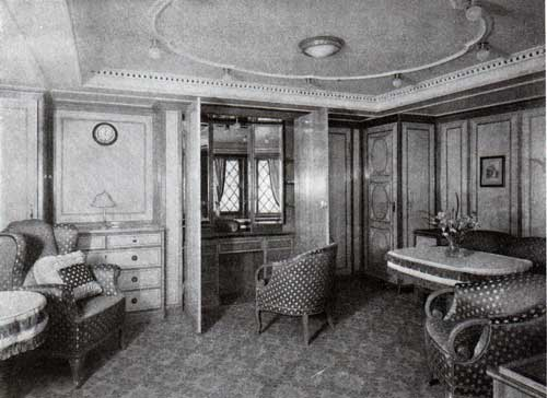 Drawing Room In One Of The Many Suites