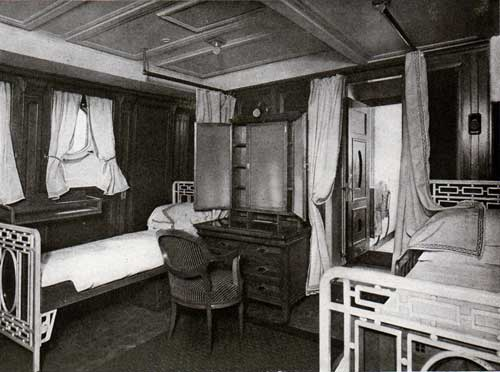 Two-Bed Room With Connecting Bath