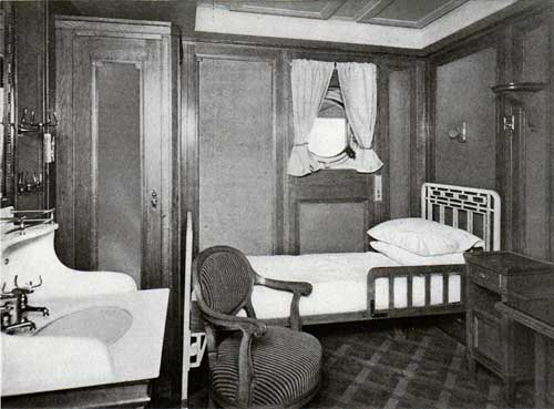 A Typical Single-Bed Stateroom