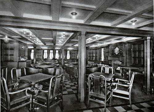 View In The Second Class Smoking Room