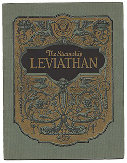 The Steamship Leviathan - 1923 - United States Lines