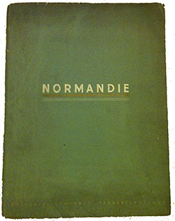 NORMANDIE of the French Line