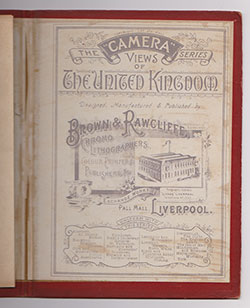 Publication Information - Album of Photo-Lithographic Views of Liverpool and New Brighton (1898)