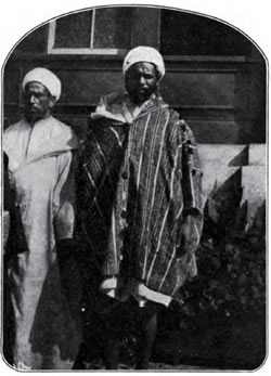 Two African Arabs, Awaiting the Medical Examination