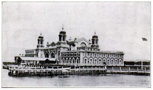 Main Immigration Building at Ellis Island