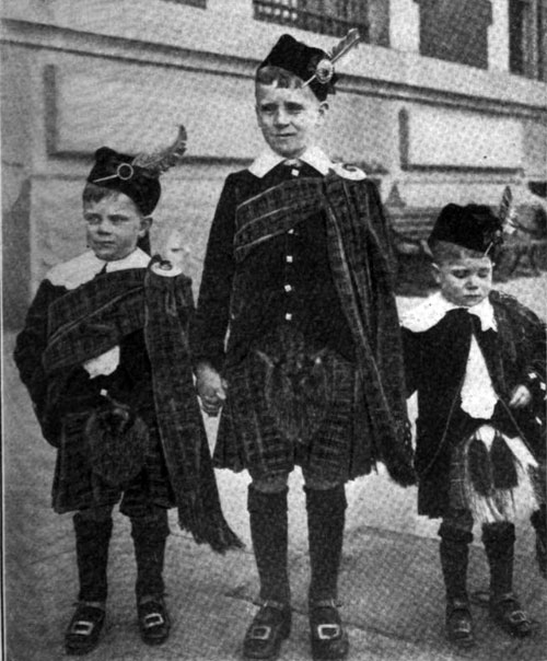 Photo 02 - Three Young Highlanders
