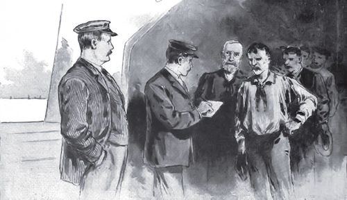 Fig 03 - Calling The Crew Of A Steamer