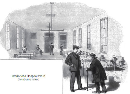 Fig 04 - Interior Of A Hospital Ward - Swinburne Island