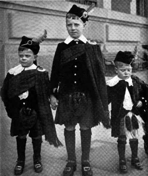 Scotch Immigrant Children