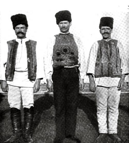 Montenegro Immigrants In Native Costumes