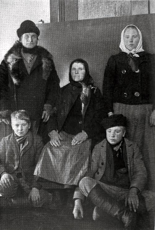 Finnish Immigrant Family At Ellis Island