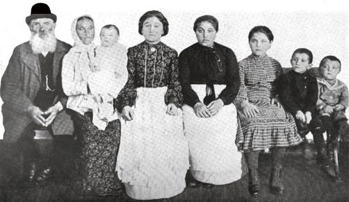 Typical Jewish Family From Russia
