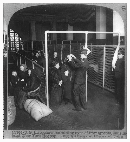 How Immigrants Are Inspected - Ellis Island - 1903 | GG Archives