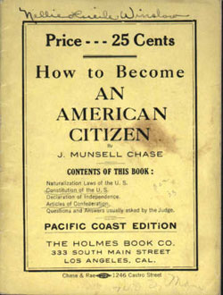 Becoming An American Citizen (1907)