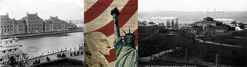 Collage of Immigration Images