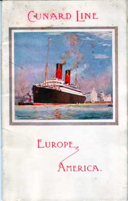 RMS Laconia 6 August 1912