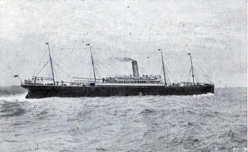 Photograph of the S.S. Winifredian