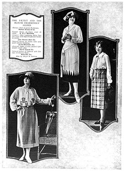 Blouses of French Elaboration - January 1922