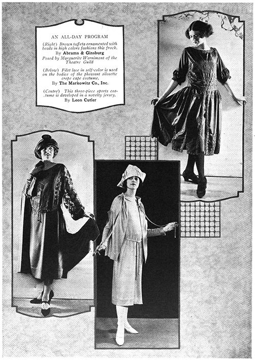 Spring Season's Dresses and Gowns - February 1922