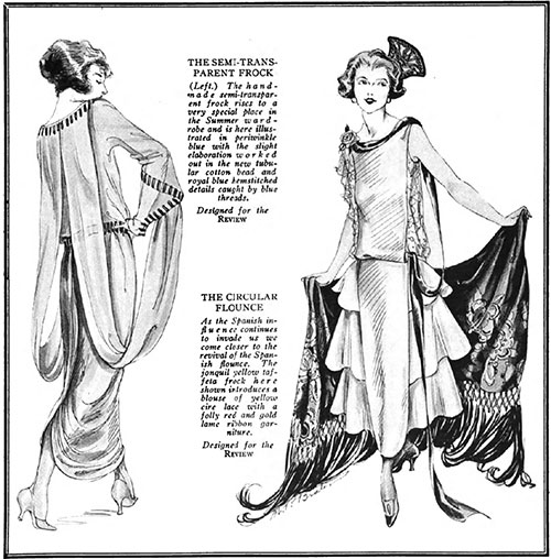 The Summer Evening Gown February 1922