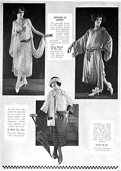 Dresses and Gowns Find Themselves - 1922