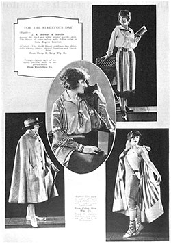 The Trend in Luxurious and Practical Blouses 1922