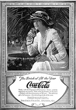 Coca-Cola - The Drink of All the Year © 1917