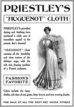 Priestley's Huguenot Cloth Dress - 1907